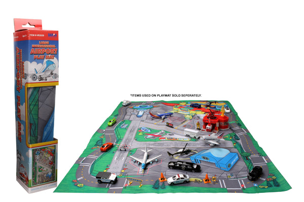 HR2039 LARGE AIRPORT PLAYMAT (FELT) 41 1/4 X 31 1/2 INCHES