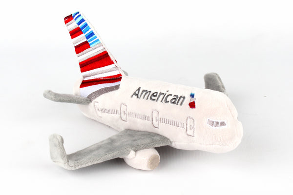 MT004-1 AMERICAN AIRLINES PLUSH AIRPLANE W/SOUND