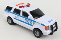 NY28100-2 NYPD MOTORIZED SUV WITH LIGHTS & SOUNDS