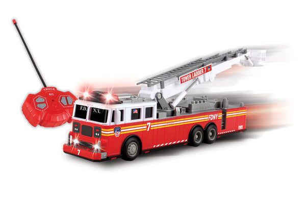 NY57377 FDNY AERIAL SCOPE RADIO CONTROL FIRE TRUCK