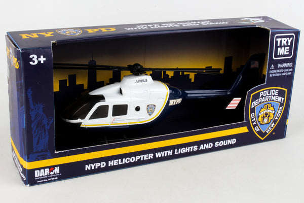 NY9038 NYPD POLICE HELICOPTER W/LIGHTS & SOUND