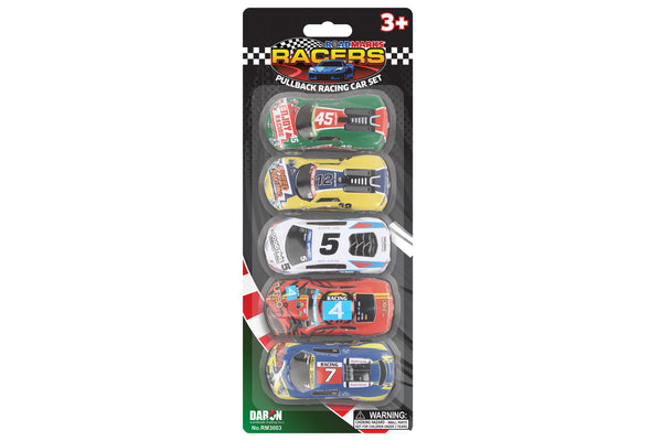 RM3003 ROAD MARKS METAL 5 PACK RACING CARS