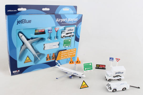RT1221 JETBLUE AIRPORT PLAYSET