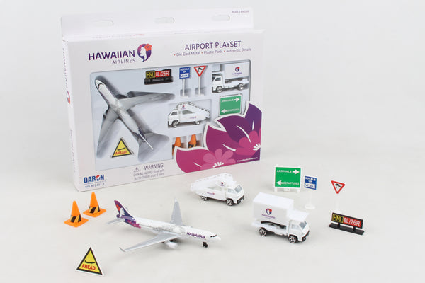 RT2431-1 HAWAIIAN AIRLINES PLAYSET NEW LIVERY