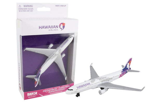 RT2434-1 HAWAIIAN AIRLINES SINGLE PLANE