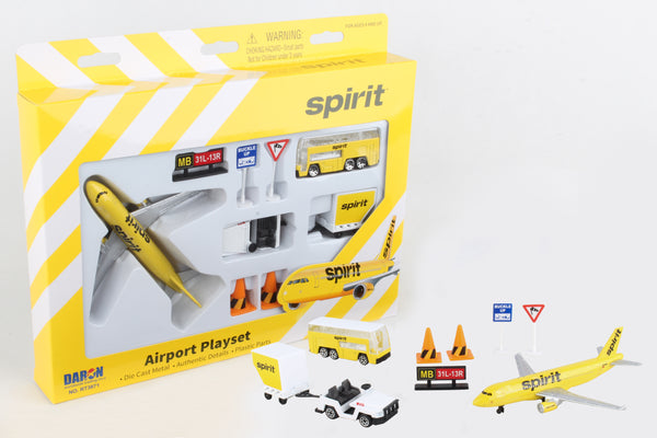 RT3871 SPIRIT AIRLINES PLAYSET
