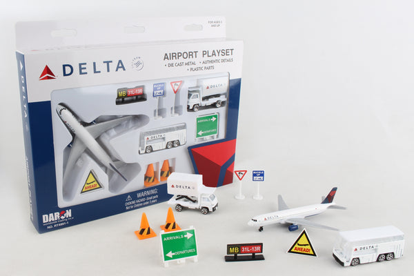 RT4991 DELTA AIR LINES PLAYSET