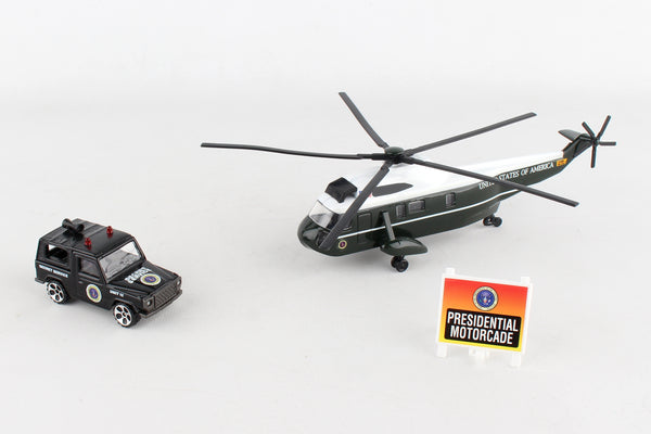 RT5760 MARINE ONE VH-3D SEA KING 3 PIECE PLAYSET