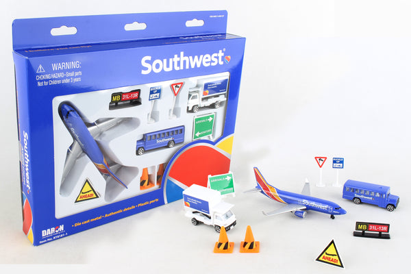 RT8181-1 SOUTHWEST AIRLINES PLAYSET NEW LIVERY