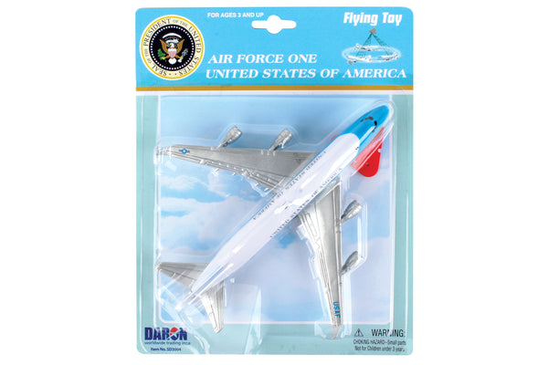 AIR FORCE ONE FLYING TOY ON A STRING SD3004