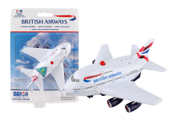TT014 BRITISH AIRWAYS PULLBACK W/LIGHT & SOUND