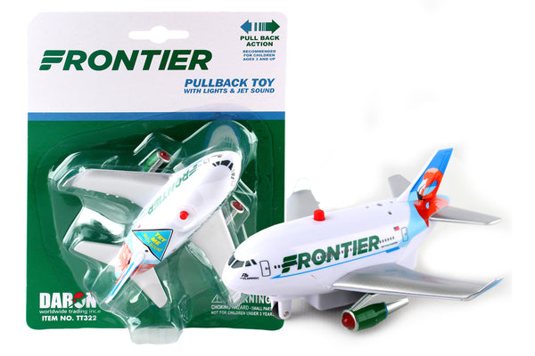 TT322 FRONTIER PULLBACK W/LIGHT & SOUND FLO THE FLAMINGO