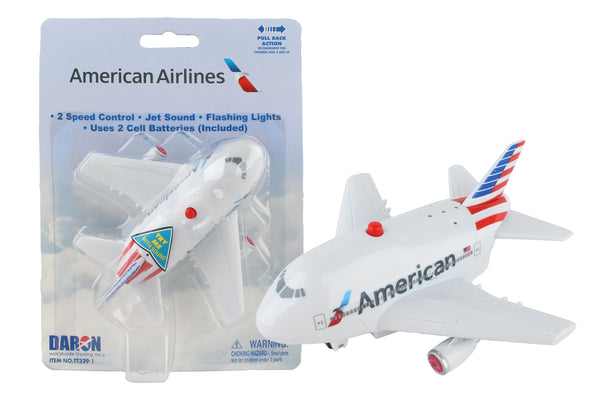 TT329-1 AMERICAN AIRLINES PULLBACK W/LIGHT & SOUND NEW LIVERY