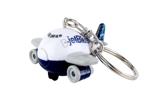 TT80932 JETBLUE KEYCHAIN WITH LIGHT & SOUND