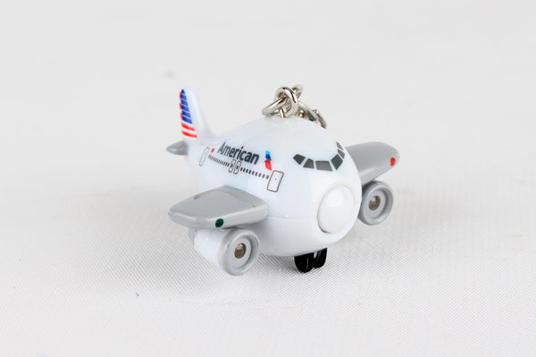 TT85488-1 AMERICAN AIRLINES KEYCHAIN W/LIGHT & SOUND
