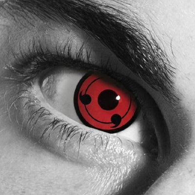 cosplay anime Naruto Red (12 months) contact lenses