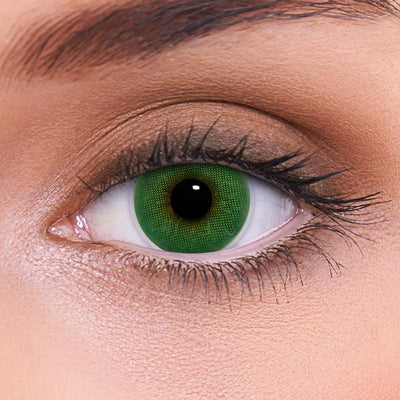 Bright Jade Green Contact Lenses
