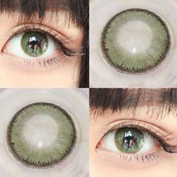 Russian green (12 months) contact lenses