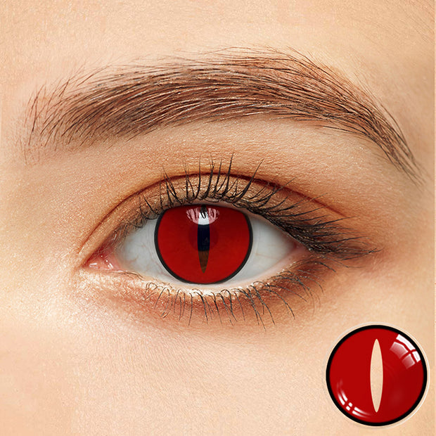 Naruto tail beast Colored Contact Lenses