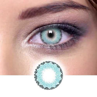 Lucky Girl Blue Contact Lenses