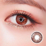 Super Pinky Hazel Colored Contact Lenses