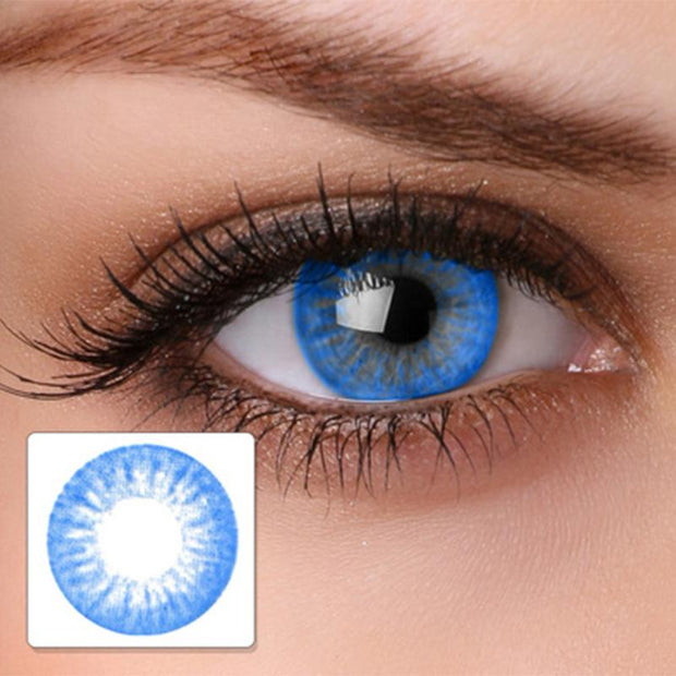 Starry sky bright blue (12 months) contact lenses