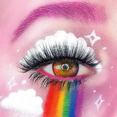 Starry bright color  natural rainbow  (12 months) contact lenses