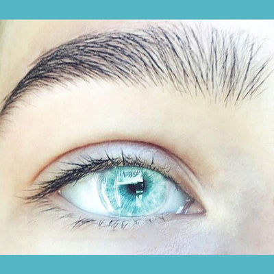 cosplay crystal light blue (12 months) contact lenses