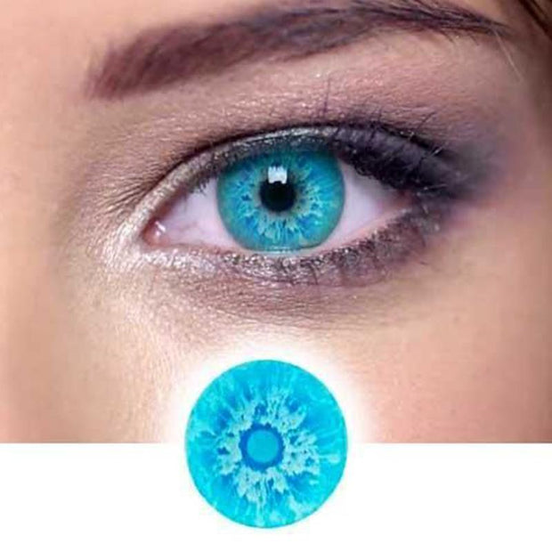 cosplay Russian blue contact lens