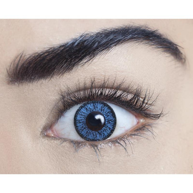 AQUA BLUE NATURAL COLOURED CONTACT LENSES