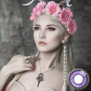 Cosplay Violet Colored Contact Lenses