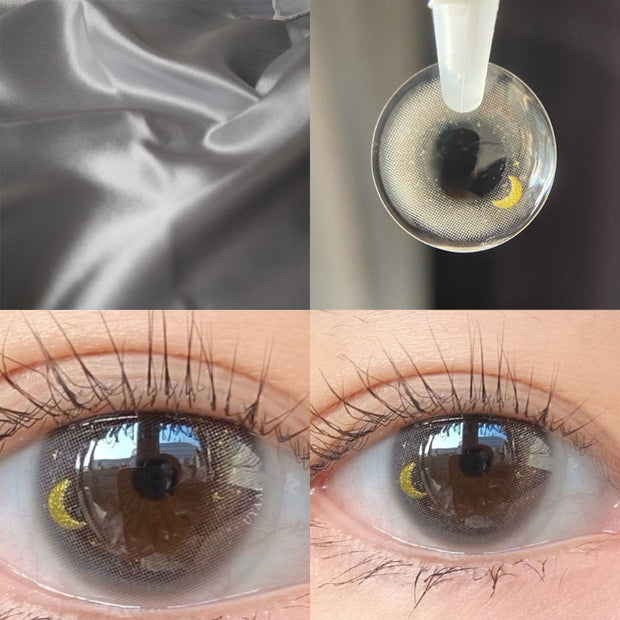 2pcs/Pair Beautiful girl moon color contact lens