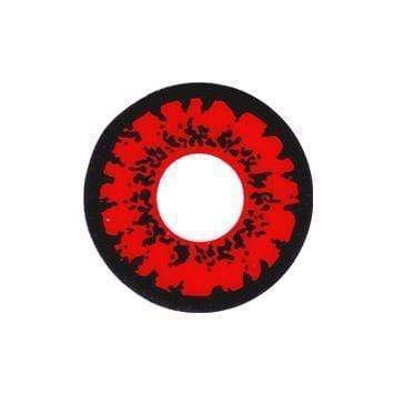 Tokyo Ghoul Ken Red Anime Colored Contact Lenses