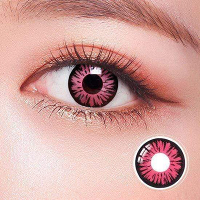 Kuroko's Basketball Pink Anime Colored Contact Lenses