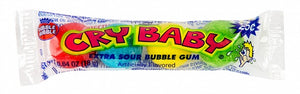 Cry Baby Extra Sour Bubble Gum (4pc)