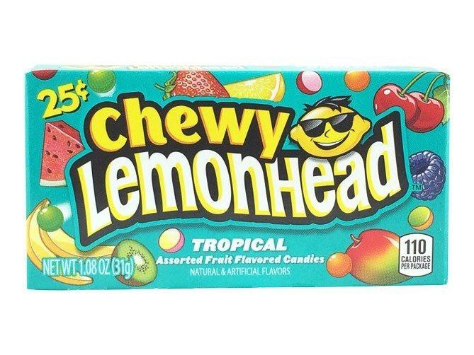 Chewy Lemonhead Tropical (23g)