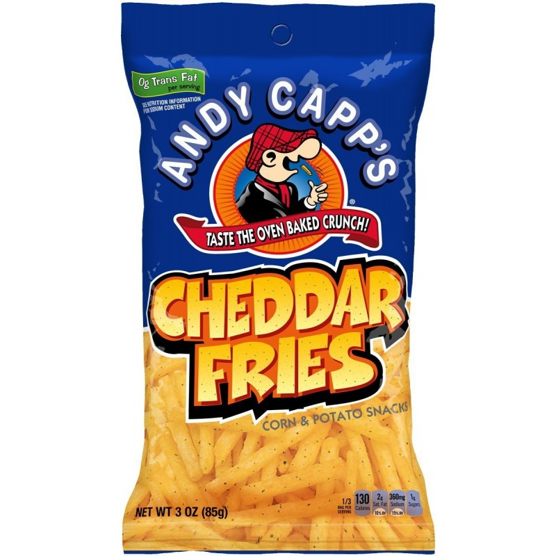 Andy Capp Cheddar Fries(85g)