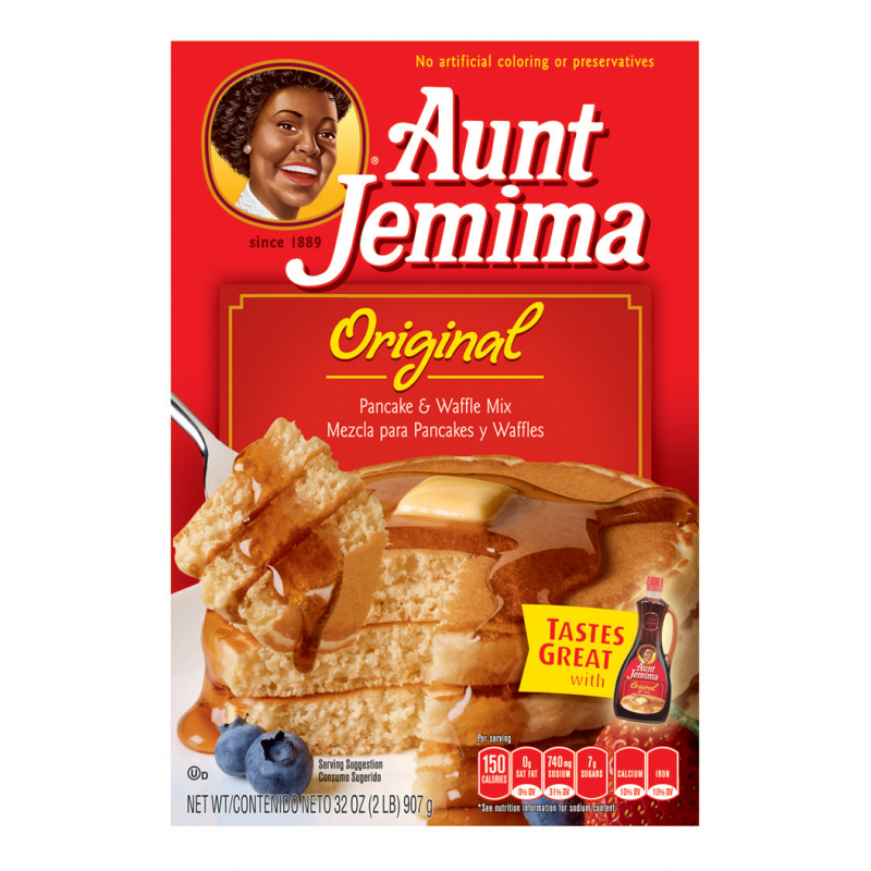 Aunt Jemima Original Pancake and Waffle Mix (907g)