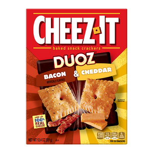 Cheez It Duoz Bacon & Cheddar (351g)