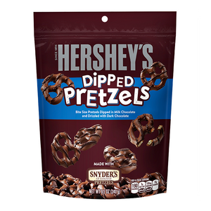 Hershey's - Milk Chocolate Dipped Pretzels - 8.5oz (240g)