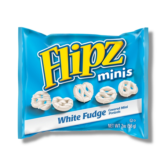 Flipz Grab N Go Mini White Fudge Pretzel (56g)