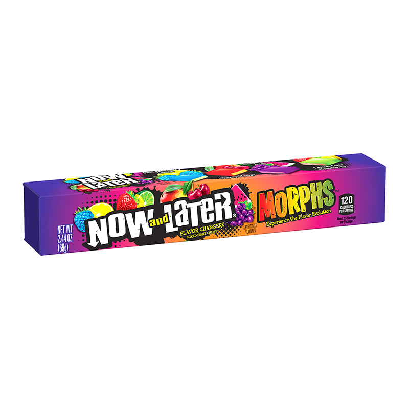 Now & Later Morphs Flavour Changing Candy