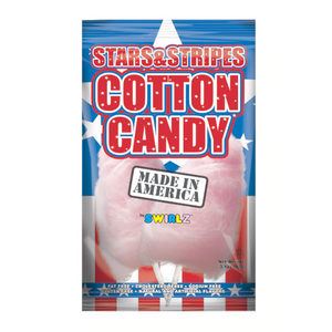 Swirlz Stars & Stripes Cotton Candy (88g)