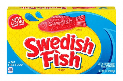 Swedish Fish Theatre Box