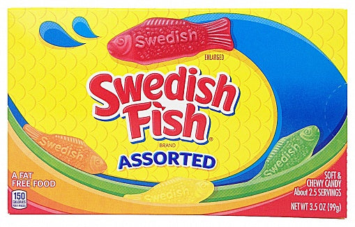 Swedish Fish Assorted (99g)