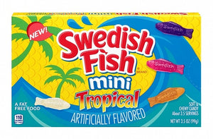Swedish Fish Mini Tropical (Theatre Box)