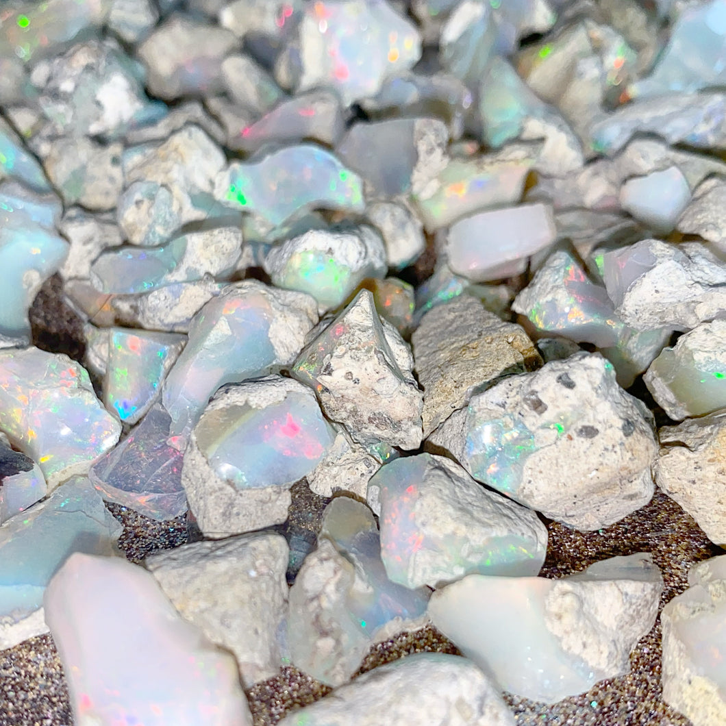 PRESALE: Rough Welo Ethiopian Opals 4-5 gram pieces