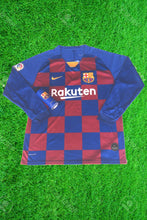 Load image into Gallery viewer, Barcelona Home Full Sleeves Jersey With Barcelona Body Spray