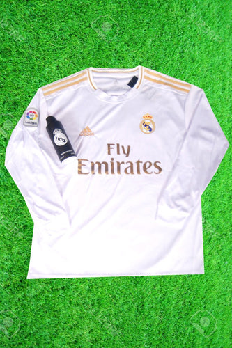 Real Madrid Home Full Sleeves Jersey With Real Madrid Body Spray
