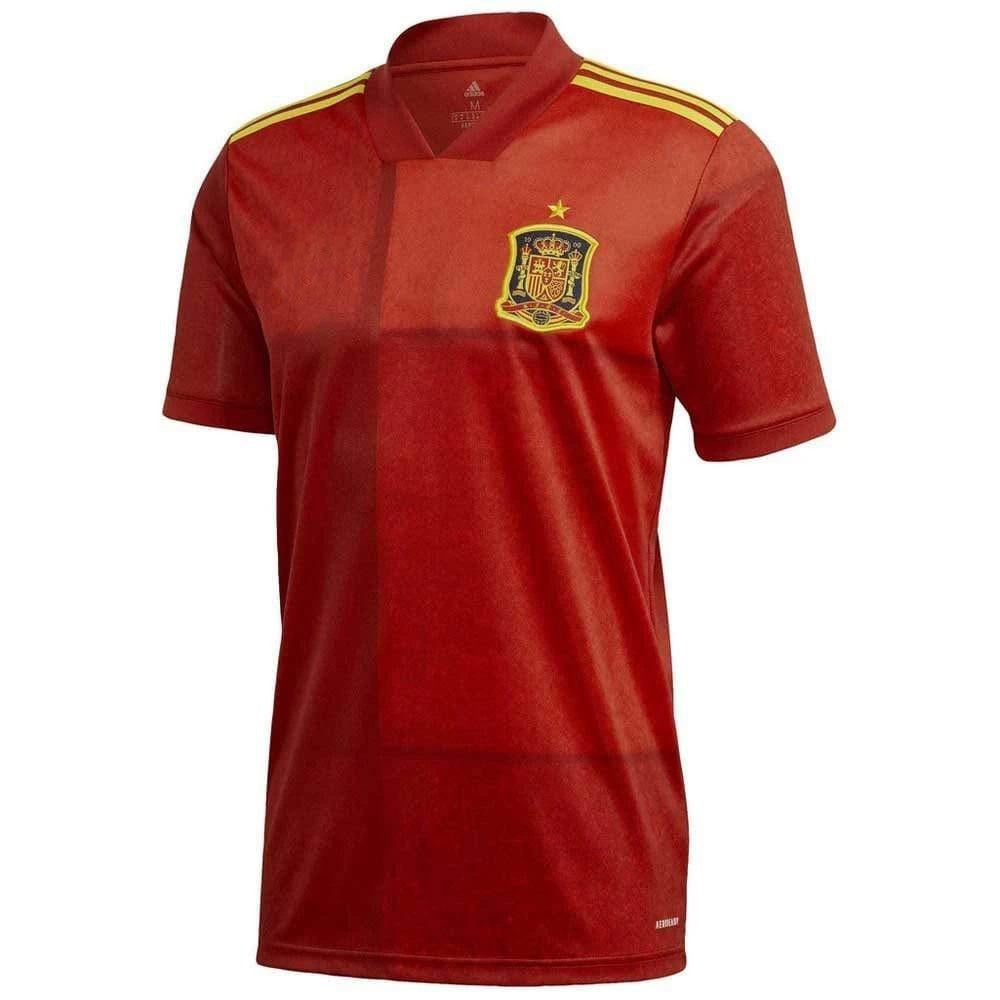 Spain Home Jersey 2020/21 Without Name & No.